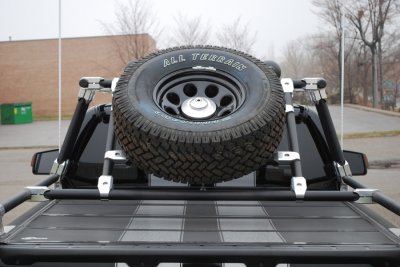 Angled Tire Mount